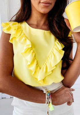 Bluzka Cornelian Yellow