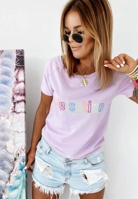 Bluzka Velsatino Color Lilac