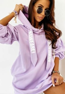 Bluza Sukienka Answeare Lilac