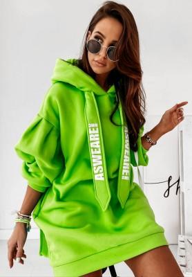 Bluza Sukienka Answeare Lime