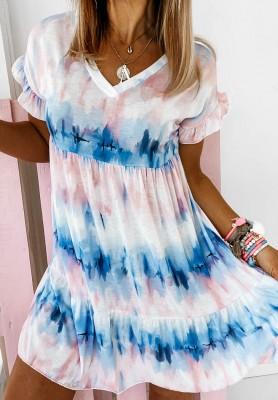Sukienka Pettbone Tie Dye
