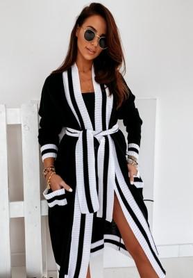 Sweter Kardigan Miss City Black