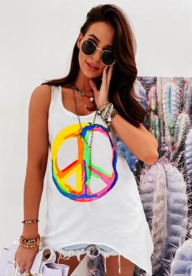 Top Peace White