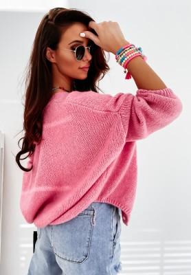 Sweter Kardigan Sunbrella Pink