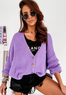 Sweter Kardigan Sunbrella Violet
