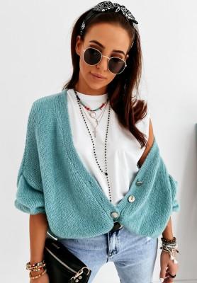 Sweter Kardigan Sunbrella Mint