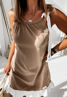 Sukienka Melrose Camel