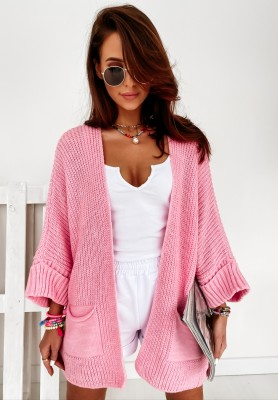 Sweter Kardigan Sarrance Pink