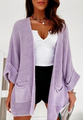 Sweter Kardigan Sarrance Lilac