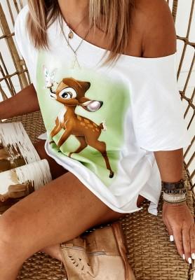 Bluzka Bambi White