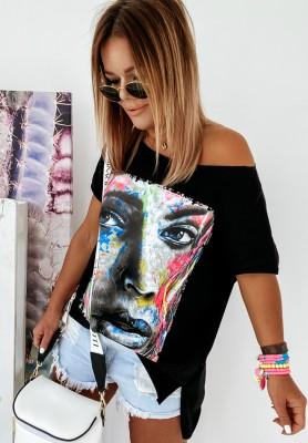 Bluzka Paint Black